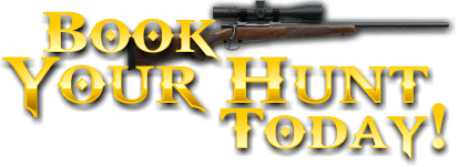 Book Your Hunt Today!